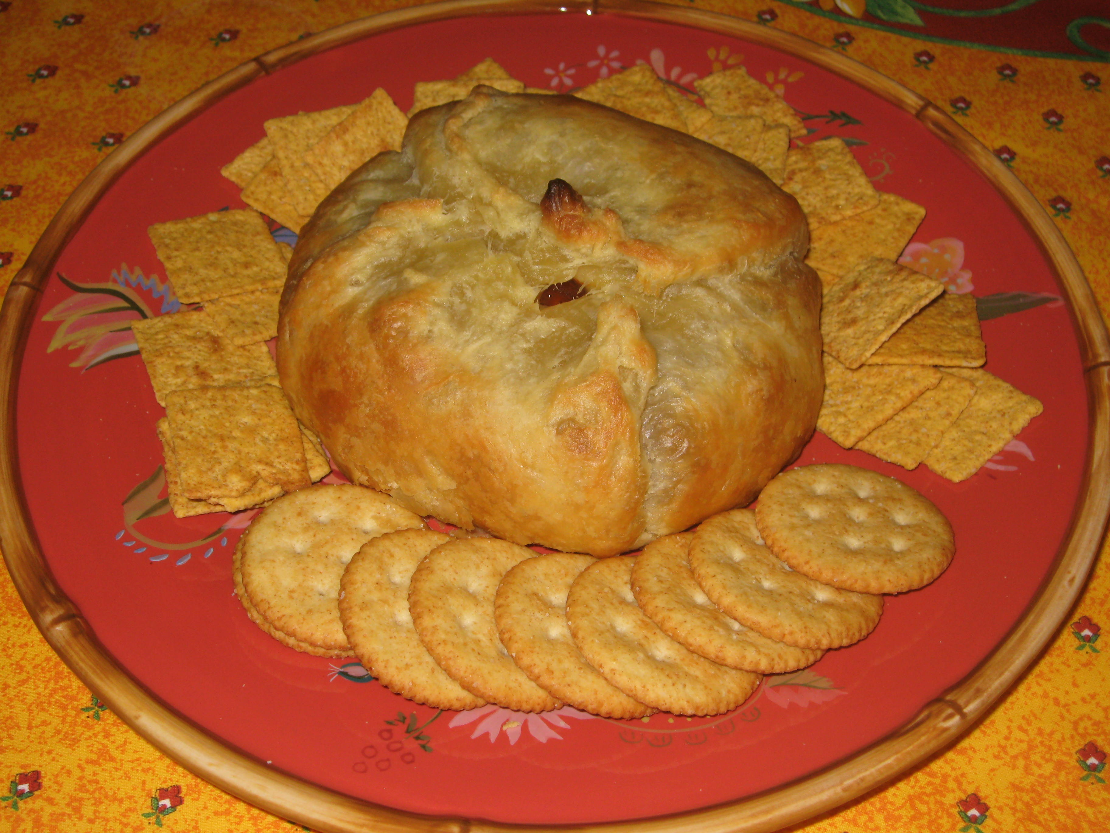 BAKED BRIE IN PUFF PASTRY WITH GUAVA   Mary's Joy of Family Cooking