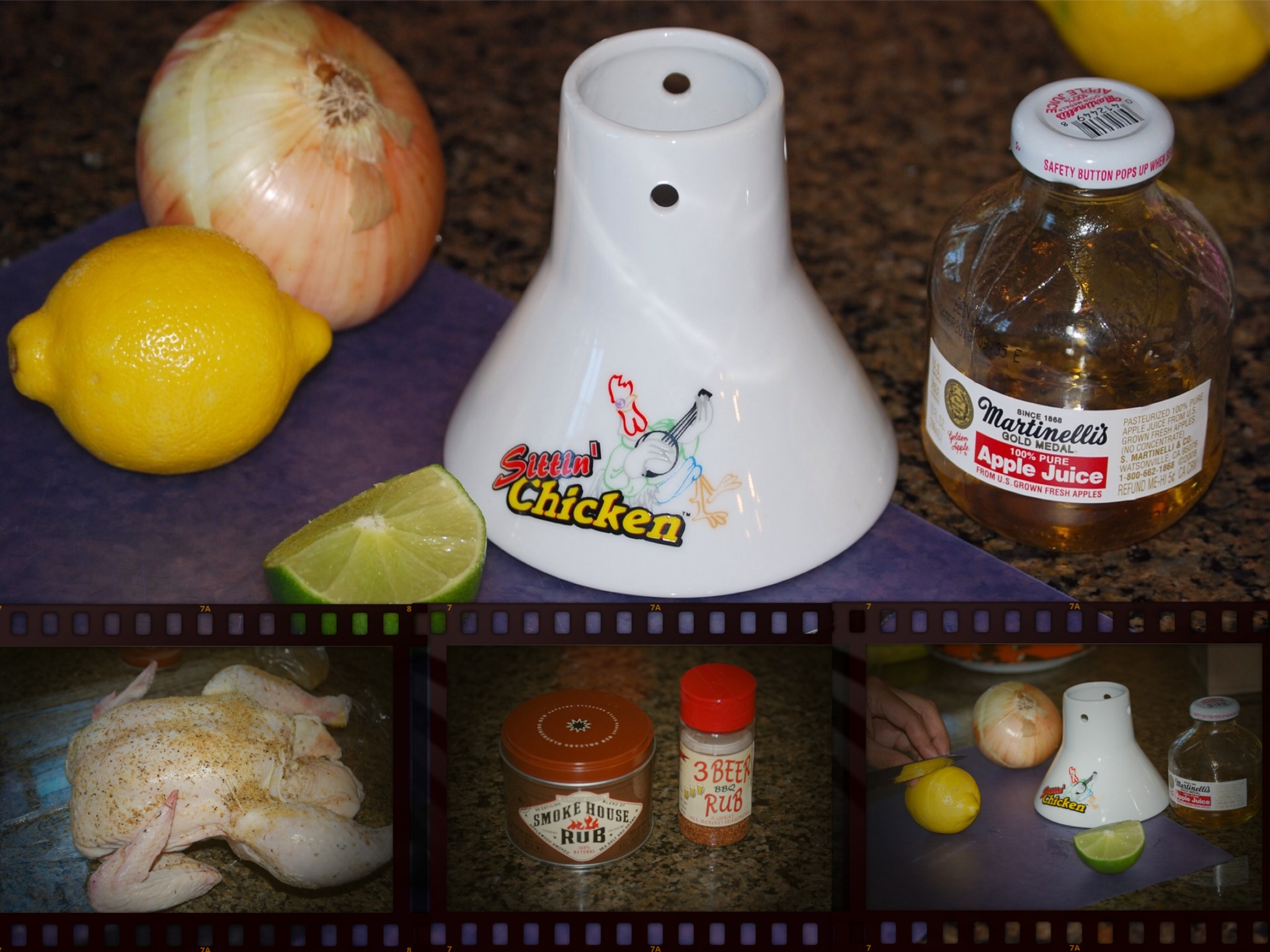 JASON'S BEER CAN or APPLE CIDER CHICKEN | Mary's Joy of Family Cooking
