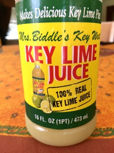 Good brand of bottled Key lime juice!